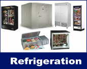 Kingsland ACH also provides refrigeration maintenance, sales, and service for commerical units including walk-in coolers or freezers, prep tables, ice machines and more