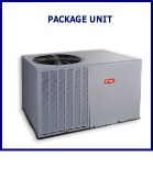 Package units - used in both residential and commerical applications where indoor space commonly unavailable
